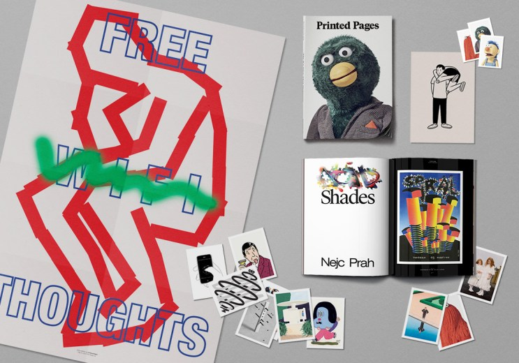 Don't Hug Me I'm Scared Puts Its Quirky Touch on 'Printed Pages'