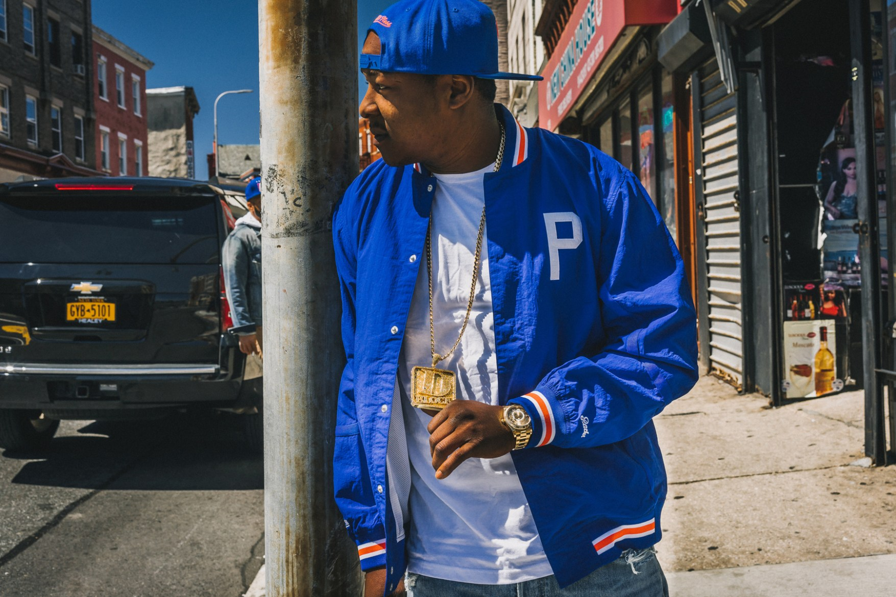 Jadakiss & Packer Shoes Pay Homage to Yonkers With Mitchell & Ness Collaboration