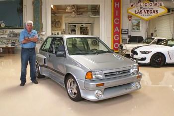 Jay Leno Finally Shows off His Pristine 1989 Ford Festiva V6 Shogun