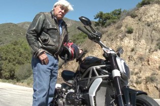 Jay Leno Takes off on the 2016 Ducati XDiavel S
