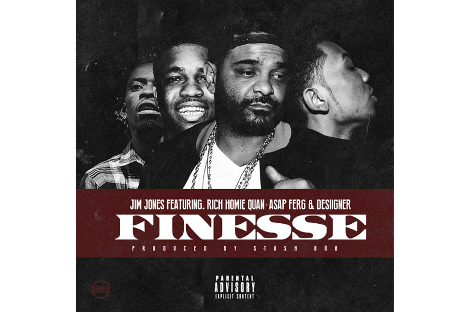 """Jim Jones Connects With A$AP Ferg, Rich Homie Quan & Desiigner for """"Finesse"""""""