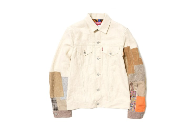 Junya Watanabe MAN Revamps the Levi's Hemp Linen Canvas Jacket