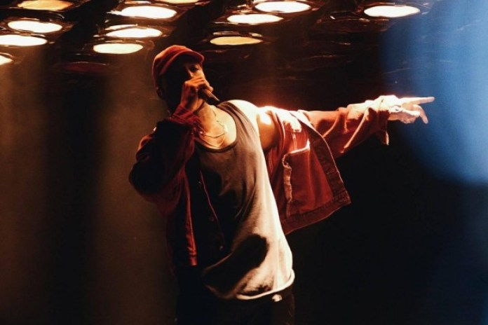 """Kanye West Performs """"I Don't Want to Be Liked"""" Freestyle at Paradise Manila"""