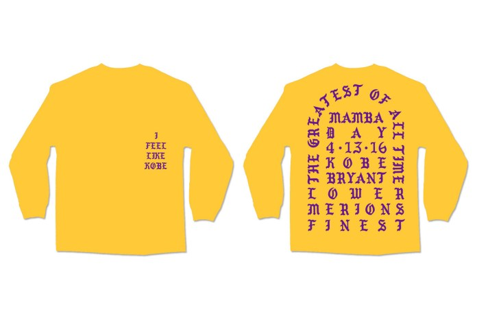 "Kanye West ""I Feel Like Kobe"" Crewneck"