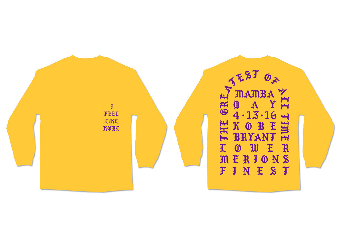 """I Feel Like Kobe"" Crewneck For Sale"