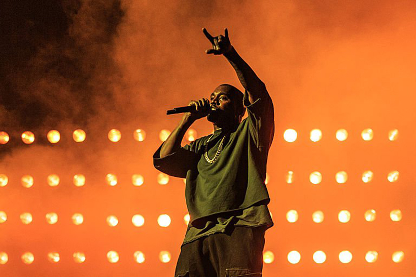 Kanye West's Surprise Performance at A$AP Rocky's Coachella Set Cut Short From Overtime