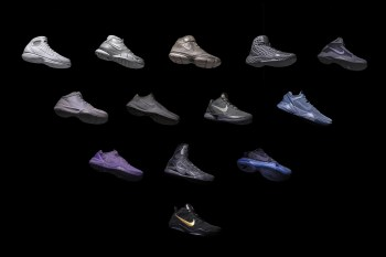 "KITH Teams up With Nike Basketball to Re-Release Kobe Bryant's ""Fade to Black"" Collection"