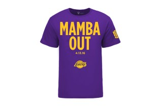 "Kobe Bryant Is Already Selling ""Mamba Out"" T-Shirts"