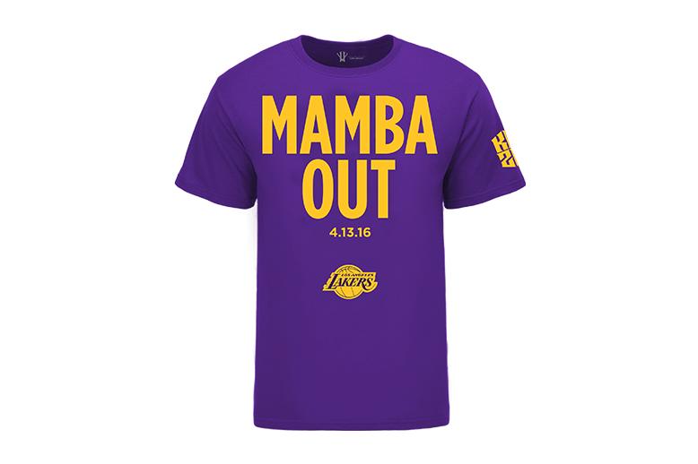 black mamba kobe shirt