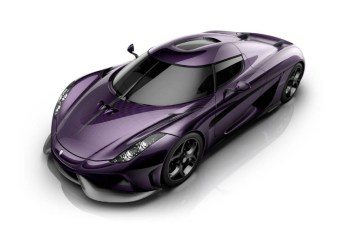 Koenigsegg Decks out the Regera in Purple for a Tribute to Prince