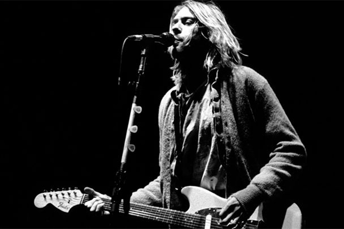 One of Kurt Cobain's Guitars From Nirvana's Final Tour Is up for Auction
