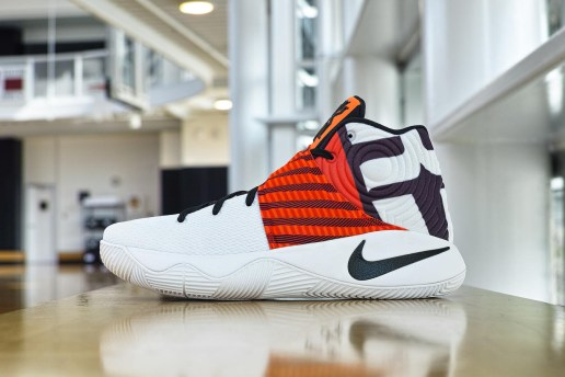 "Kyrie Irving Preps for the Playoffs With Special ""Crossover"" PE"