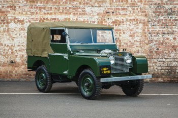 The Land Rover Series 1 Is Coming Back With 1948 Factory Specifications