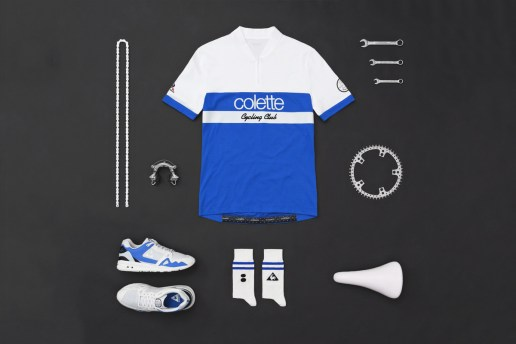 "Le Coq Sportif Teams up with Premier Retailers for a ""Cycling Club"" Pack"