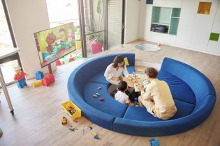 This LEGO-Inspired Apartment Is Every Child's Dream
