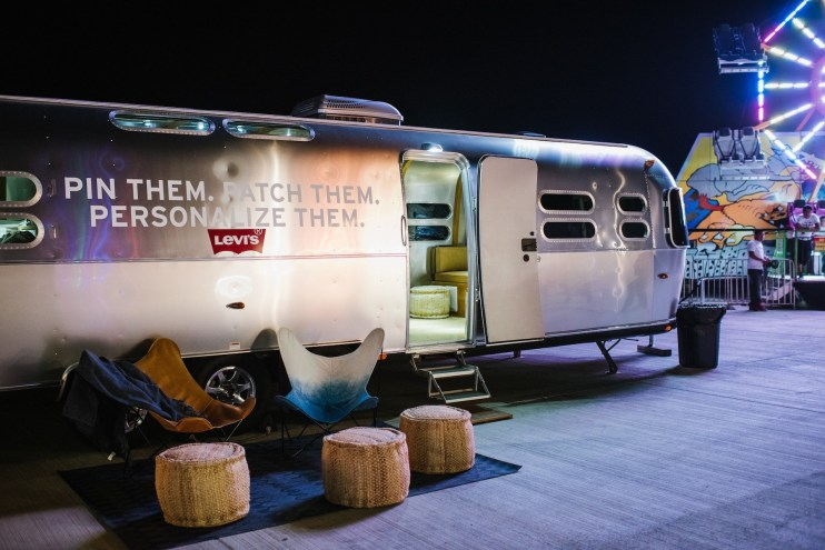 Levi's Airstream at Neon Carnival Recap