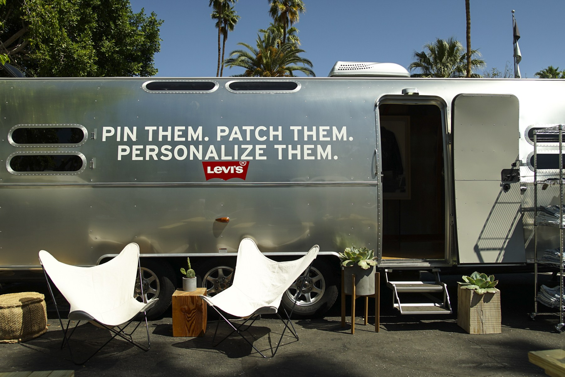 Levi's® Airstream Trailer Pop-Up Store Recap
