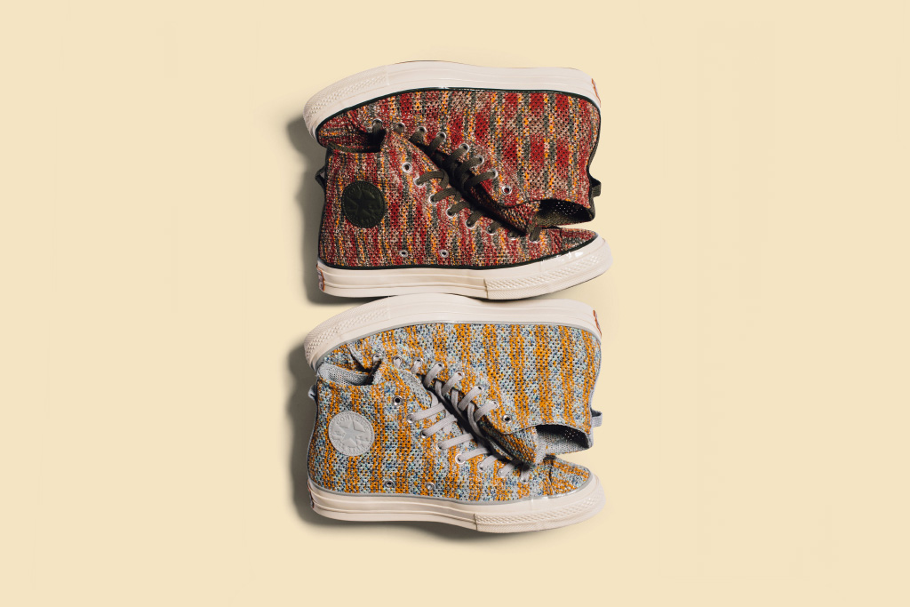 Missoni Dresses the Converse Chuck Taylor All Star in Vibrant Knitwear