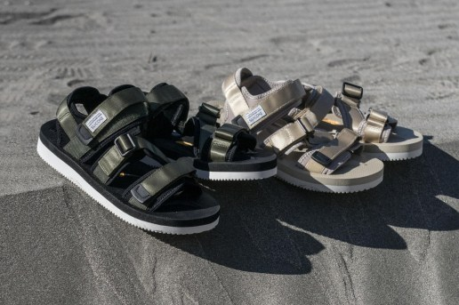 monkey time Puts Its Spin on SUICOKE's KISEE Sandals & SHO Slides