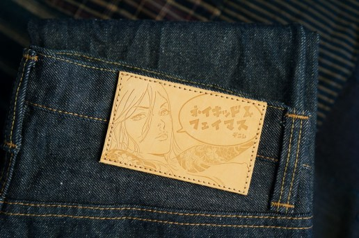 Naked & Famous Denim Calls on Artist Alvin Lee for Manga Twist to Recycled Denim