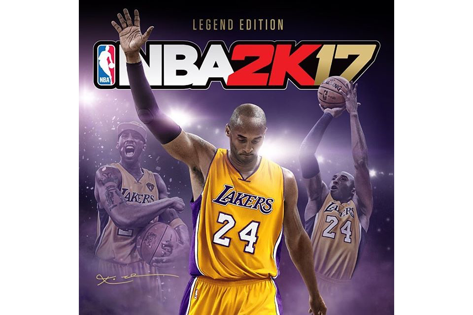 """2K Sports Announces """"Legend Edition"""" of 'NBA 2K17' With Cover Star Kobe Bryant"""