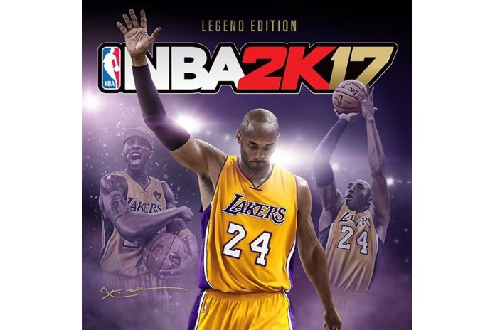"2K Sports Announces ""Legend Edition"" of 'NBA 2K17' With Cover Star Kobe Bryant"
