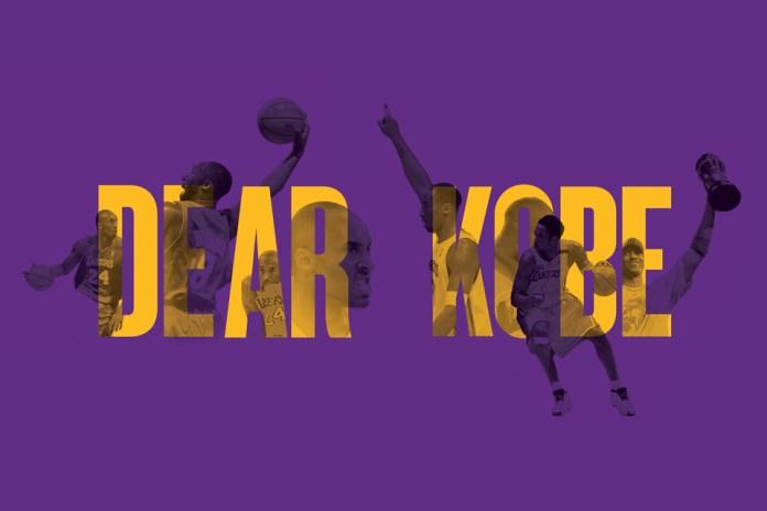 The NBA Sends Kobe Bryant off With Heartfelt Goodbye Letter