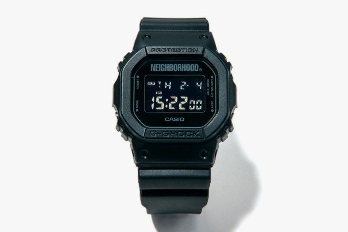 NEIGHBORHOOD Takes on the G-SHOCK DW-5600
