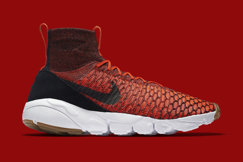 """Nike's Air Footscape Magista Takes the """"Bright Crimson"""" Route for Upcoming Release"""