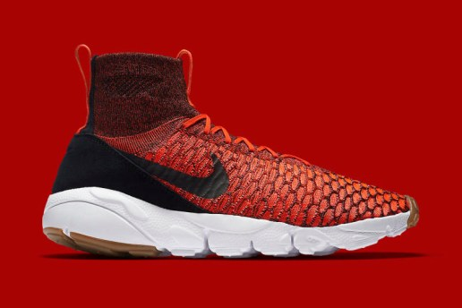 "Nike's Air Footscape Magista Takes the ""Bright Crimson"" Route for Upcoming Release"