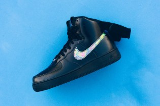 Nike Air Force 1 High '07 LV8 Black/Metallic Gold