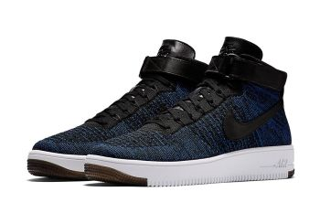 """Nike Air Force 1 Mid Flyknit """"Game Royal"""""""