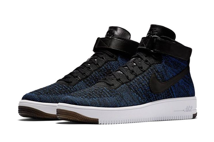 "Nike Air Force 1 Mid Flyknit ""Game Royal"""