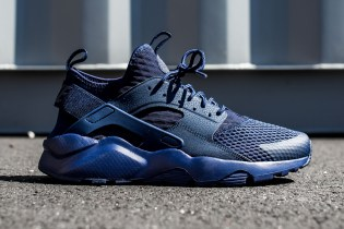 "Nike Air Huarache Run Ultra BR ""Midnight Navy"""