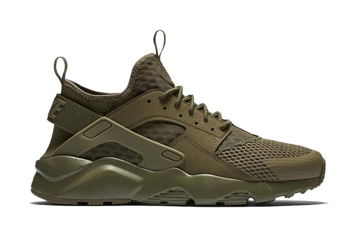 The Nike Air Huarache Run Ultra BR Channels Military Inspiration