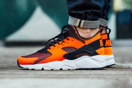 "Nike Air Huarache Run Ultra ""Total Crimson"""