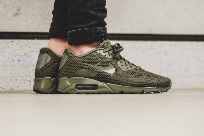 "Nike Air Max 90 Ultra BR ""Medium Olive"""
