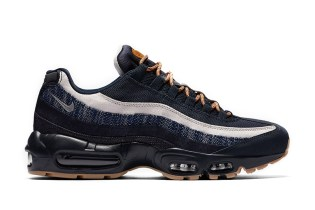 Denim Meets Nike's Air Max 95 PRM