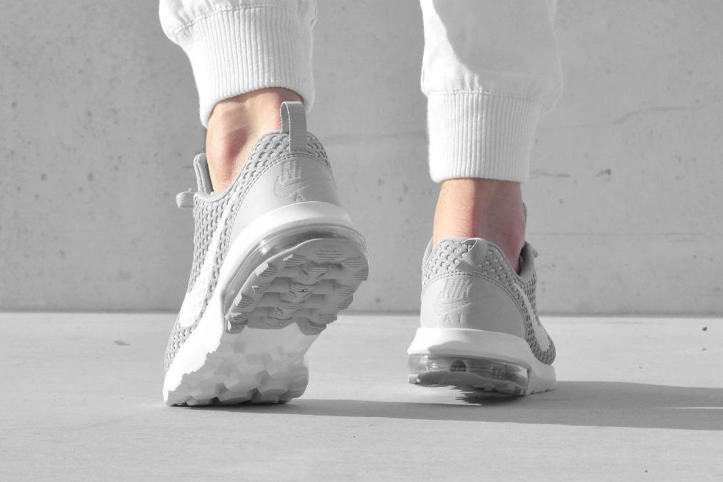 Nike Air Max Turbulence LS Wolf Grey and Black Sneaker | HYPEBEAST