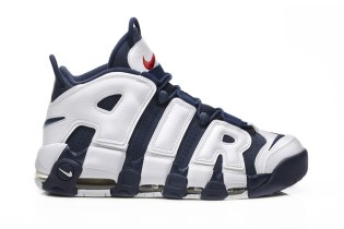 "Nike's Air More Uptempo ""Olympic"" Is Set to Make a Comeback This Summer"