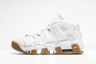 Nike Air More Uptempo White/Gum