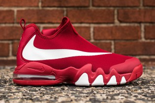 The Nike Big Swoosh Finally Launches in Gym Red