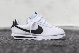 Nike's Cortez Silhouette Is Back in Full Grain Leather