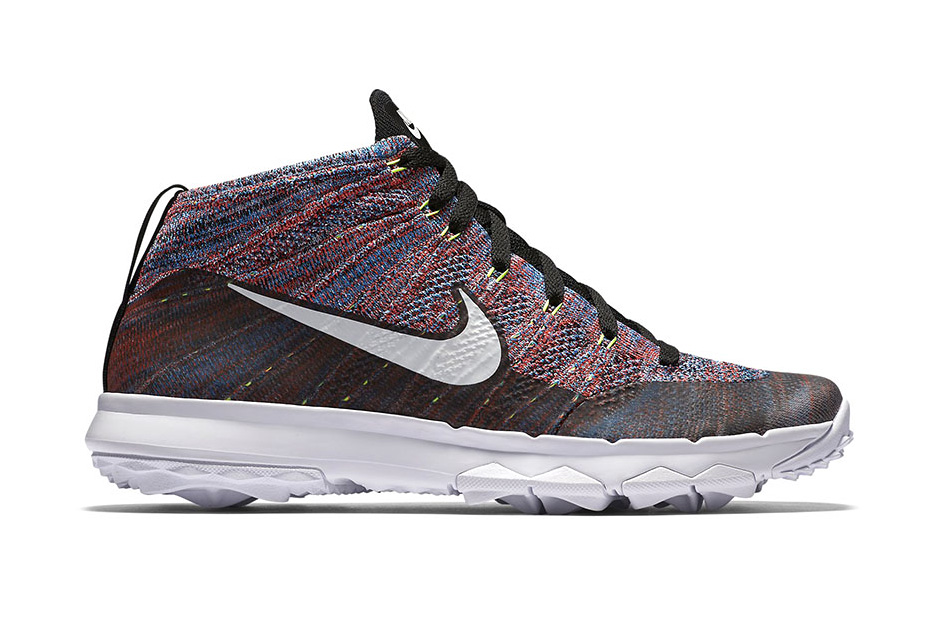 Nike Drops a Multicolored Flyknit Chukka Golf
