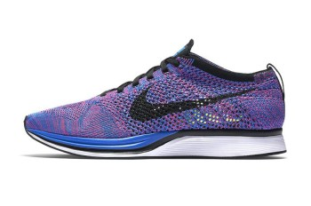 "Nike Drops the Flyknit Racer in ""Indigo"""