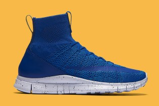"The Nike Free Mercurial Superfly Receives a Cool ""Game Royal"" Makeover"