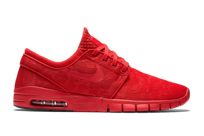 Nike Gives the Janoski Max the All-Red Treatment