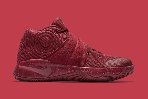 The Nike Kyrie 2 Receives an All-Red Treatment With a Touch of Suede