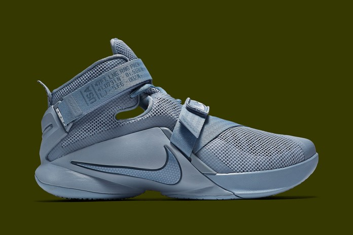 Nike LeBron Soldier 9 Takes on More Military-Inspired Motifs