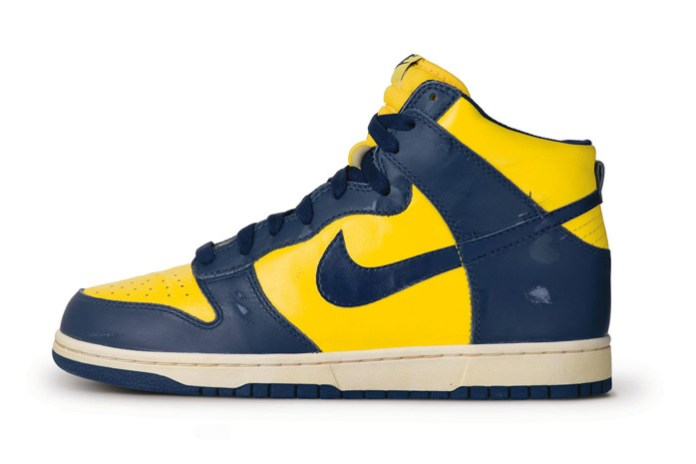 """Nike to Bring Back the """"Michigan"""" and """"UNLV"""" Dunk High Retros"""